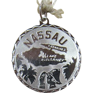 Sterling Silver Charm of Nassau, Bahamas
