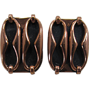 "Renoir Copper Earrings - ""Espana"""