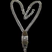 Great Marjorie Baer Mixed Metals Pendant Necklace
