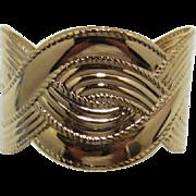 "Avon ""Moroccan Weave"" Gold-tone Cuff Bracelet"