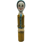 Unique Capistrano Mex Lady Lipstick Holder made by Gemma Taccogna