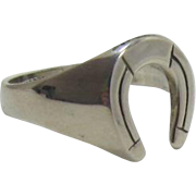 Avon Sterling Silver Horseshoe Ring - Size 11 - in Original Packaging