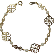 "Avon ""Hearts and Lace"" Collection Bracelet"