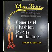 "Frank DeLizza's (Juliana) Book, ""Memoirs of a Fashion Jewelry Manufacturer"""