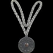 Napier Medallion Necklace of 12 Zodiac Signs