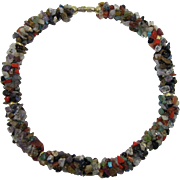 Chunky Semi-precious Stones Necklace