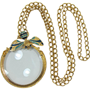 Florenza / Rosenfeld Large Magnifier Necklace