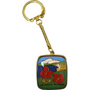 U.S. Virgin Islands Music Box on Key Ring