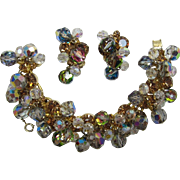 DeLizza and Elster Juliana Colorado Topaz RS and Grey Bracelet and Earrings