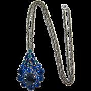 Bold D&E aka Juliana Tiered Pin/Pendant with Chain
