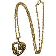 Avon Madonna and Child Necklace - New in Box - 8 Necklaces Available