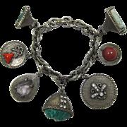 Renaissance Style Charm Bracelet