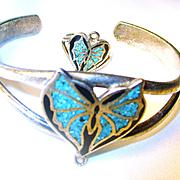 Vintage Turquoise Slave Bracelet/Ring