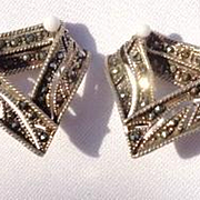 Vintage Marcasite Earrings