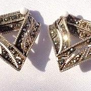 Vintage Marcasite Earrings