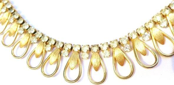 Vintage Goldtone/Rhinestone SARAH Coventry Necklace