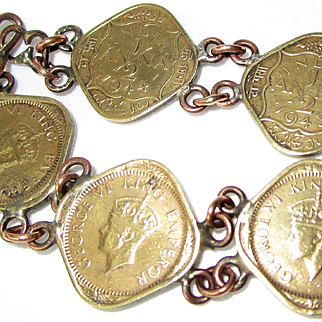 India King George VI Coins--1944