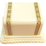 Vintage Jewelers Presentation Ring Box