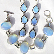 Opalite Bracelet and Earring Set