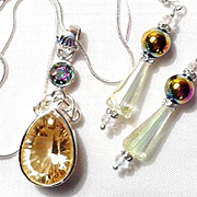 Sparkling Swarovski Crystal Set