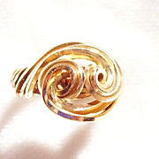14 k Gold Wire Wrapped Ring-4 1/4