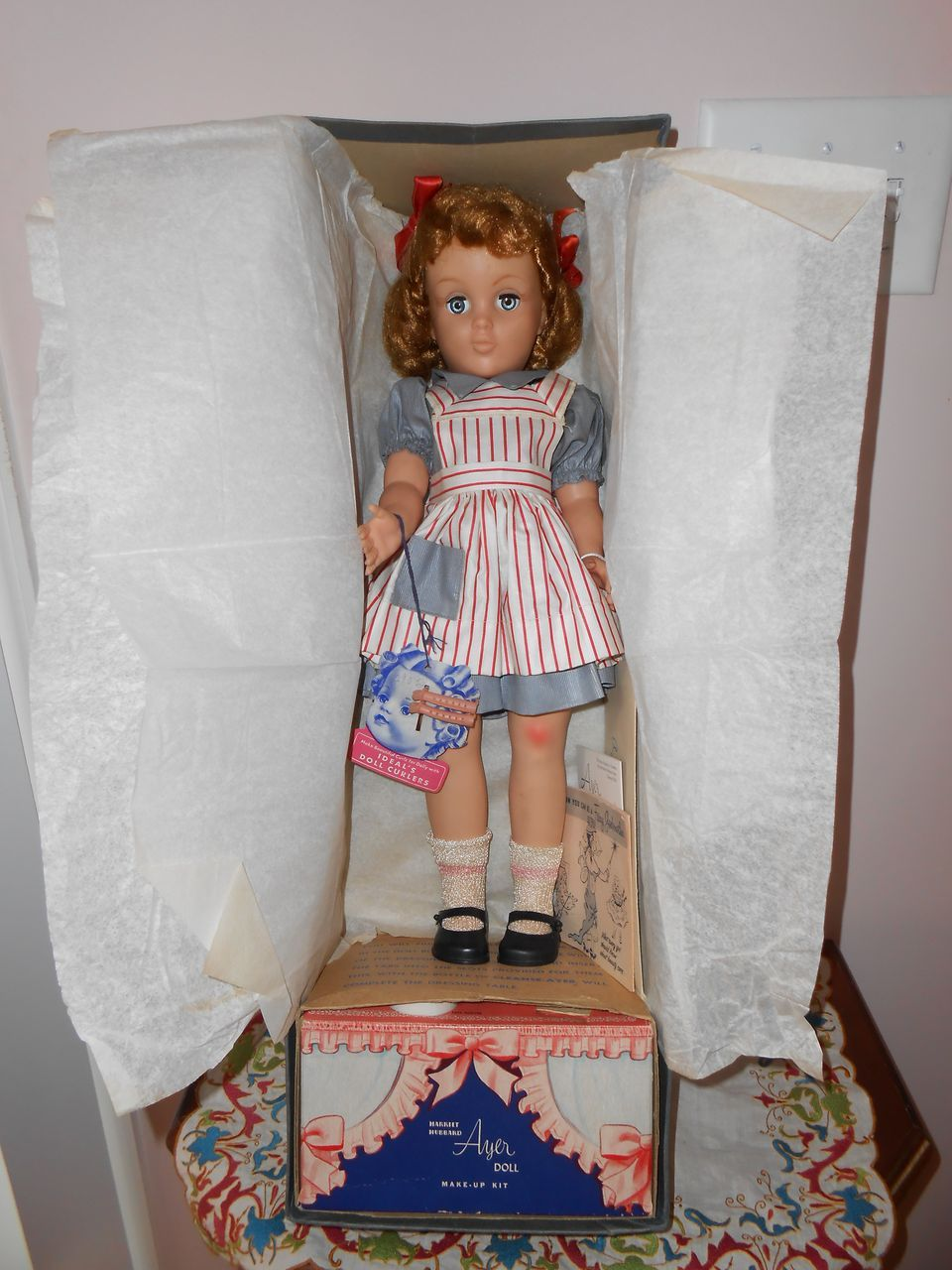 MIB Harriet Hubbard Ayers 19in Beauty Doll Ideal Toy Co.  Fabulous