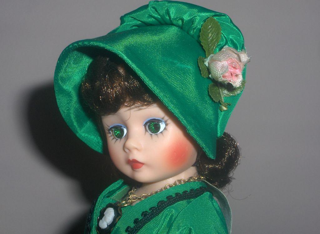"Vintage 10in. Portrette ""Scarlett"" Cissette Madame Alexander c.1969  Mint Condition"