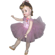 Mde. Alexander 15in. Margot Ballerina HP Near Mint Beautiful