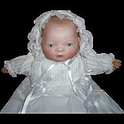 "Grace S. Putnam 15"" Bye-Lo German Bisque Baby Doll  Excellent Condition"