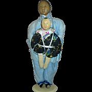 Door of Hope Mother & Child Mission Dolls All Original c.1900