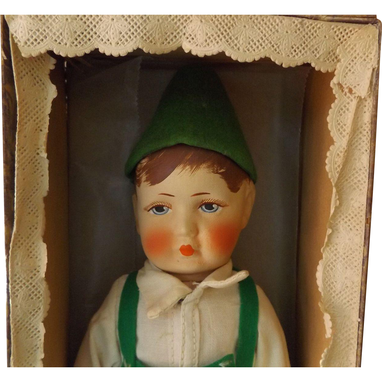 "German 10""  Bing Art Doll c. 1930 Near Mint Original Condition  Fabulous"
