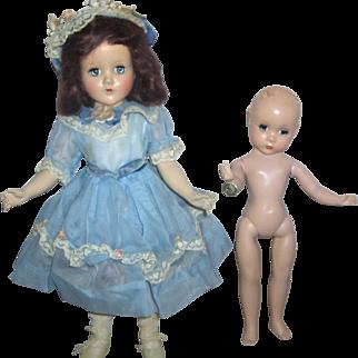 SALE Alexander Maggie Face Doll w/ Fashion Academy Award Tag,  R&B Nanette Doll Original, Hard Plastics