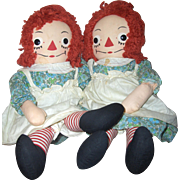 24 inch Raggedy Ann,  Johnny Gruelles c.1938, Original and Excellent (clean out sale)