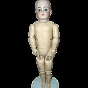 "German Bisque 22""  Simon & Halbig # 570  Doll (clean out sale)"
