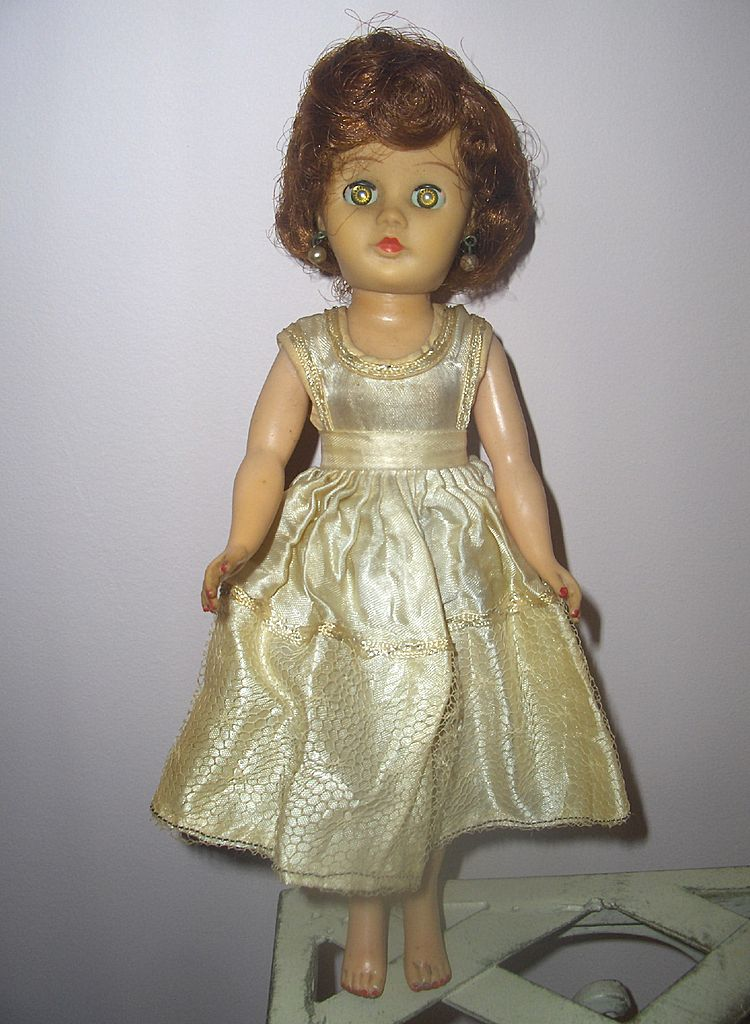 1950s Vinyl Teen Fashion Dolls Lot Of 4 Wow From