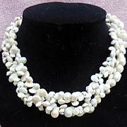 Long and Unusual Shell Necklace