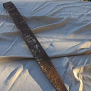 Old 37 Inch Metal Barn Strap