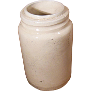 Early Stoneware Preserve Jar