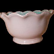 Stangl Terra Rose Small Ruffled Edge Bowl 3506 Initialed EW