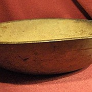 Early Small Wood Bowl