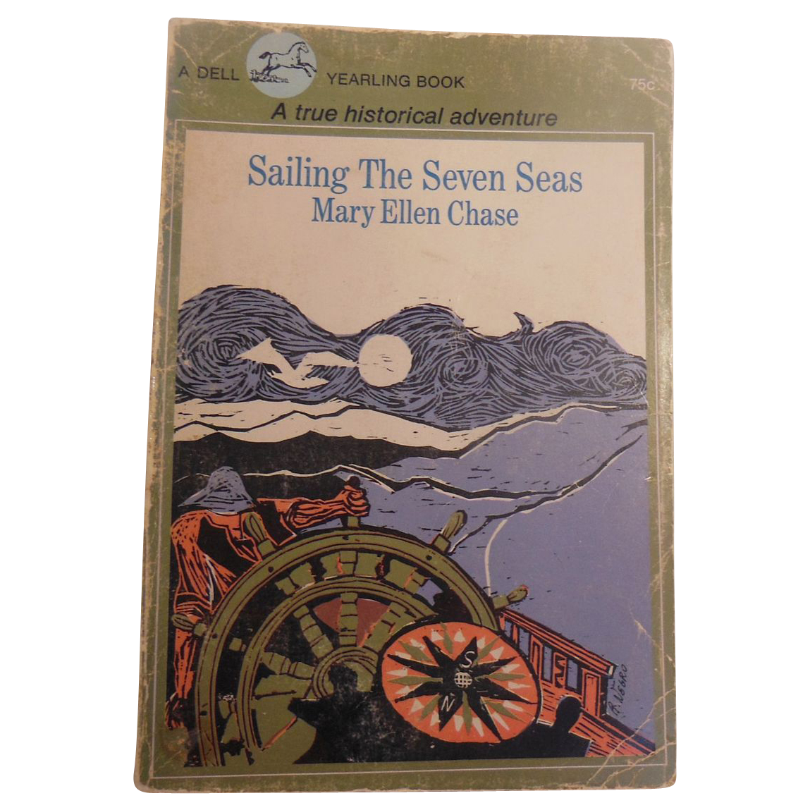 Book – Sailing the Seven Seas by Mary Ellen Chase
