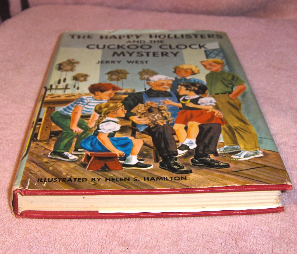 Book – The Happy Hollisters and The Cuckoo Clock Mystery by Jerry West