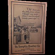 The Templin-Bradley Co. 1920's Seed Catalog
