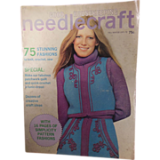 Vintage Good Housekeeping Needlecraft Magazine Fall-Winter 1971-72