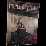 Popular Home Magazine Spring 1949