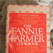 Cookbook – The Fannie Farmer Cookbook First Time in Paperback