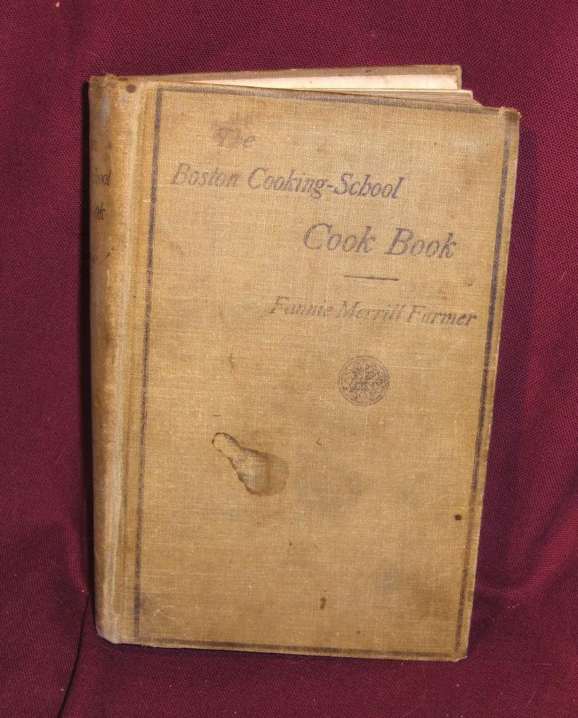 Early Edition of the Boston Cooking-School Cook Book