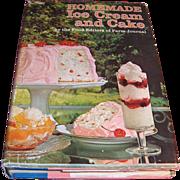 Book – Homemade Ice Cream and Cake Cook