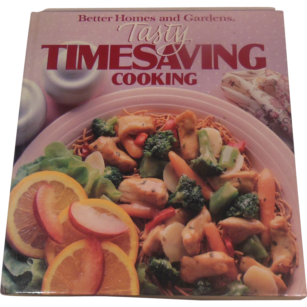 Cookbook – Better Homes and Gardens Tasty Timesaving Cooking