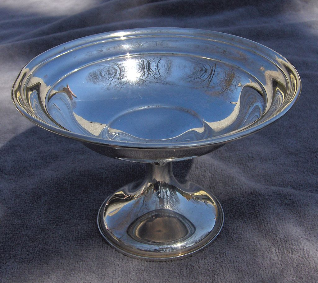 Simply Elegant Gorham Sterling Silver Compote